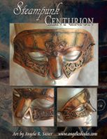 Steampunk Centurion Mask by Angelic-Artisan