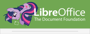 LibreOffice 4.3 Twilight custom Splash Screen by Marcsello