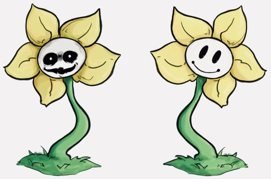 Flowey!  by EvilCrayonsOfDoom