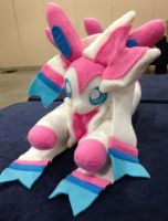 Small Sylveon Plush by PakajunaTufty