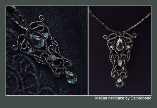 Melian necklace by bodaszilvia