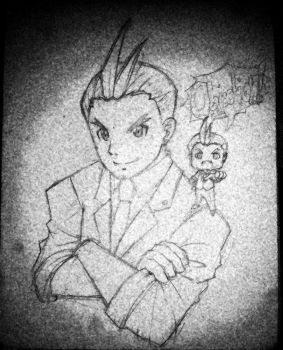 Apollo Justice (traditional) by kiseki009