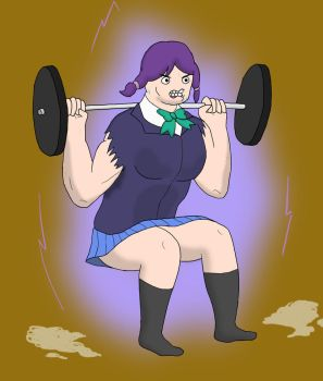 Nozoomi Gets Swole by AlphaShitlord