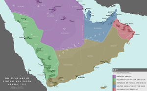 [AH] Central and South Arabia, 1990 by Enmergal