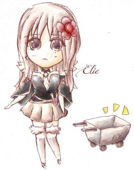 Elie the Bio Chemist by hyoori