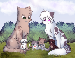 Tsc- A Spotted Family (2/2) by DevilsRealm