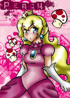 princess peach by Nasuki100