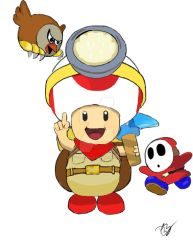 Captain Toad by BsterObryan