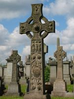 Celtic Cross At the Necropolis by Oldmerlin