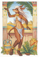 ~Egyptian dancer~ by SnowSnow11