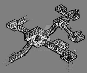 isometric dungeon test by billiambabble