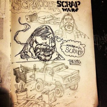 Scrap Wars by mikefasano