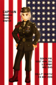 WWII U.S.Army Paratrooper CLASS-A UNIFORM by MukyuCat