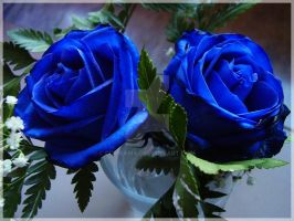 In Blue by ComeAria