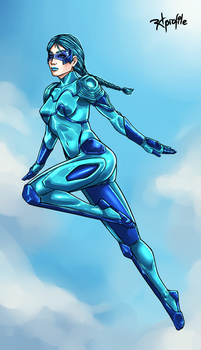 Blue Bolter by Radprofile
