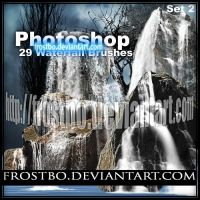 Waterfall PS Brush SET 2 by FrostBo