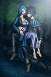 Gray and Juvia by Gray-Fullbuster
