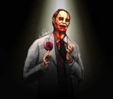 Dr Hannibal Lecter by J-Perro