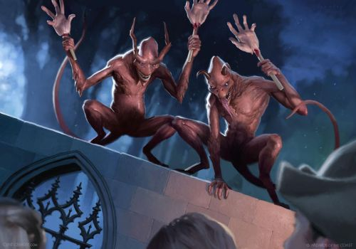 Heckling Fiends - MTG by ClintCearley