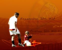 Totti and Son by toon-cubed