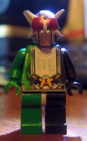 LEGO kamen Rider W Double Cyclone Joker Extreme by Digger318
