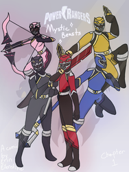 Power Rangers: Mystic Beasts {Cover} by AshbrightTheWise