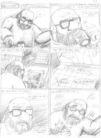 Uncle Cyrus - story 3 pg 3 Pencils by JLRoberson