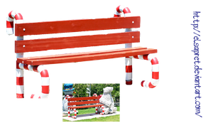 Xmas Bench by Elsapret