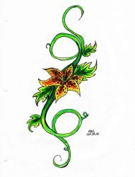 Tiger Lily tattoo by Shadowstarlette