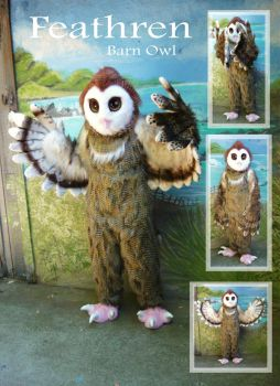 Owl Fursuit by LilleahWest