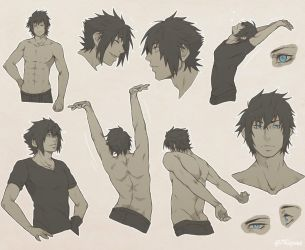 FFXV - Body Practice by 7Repose
