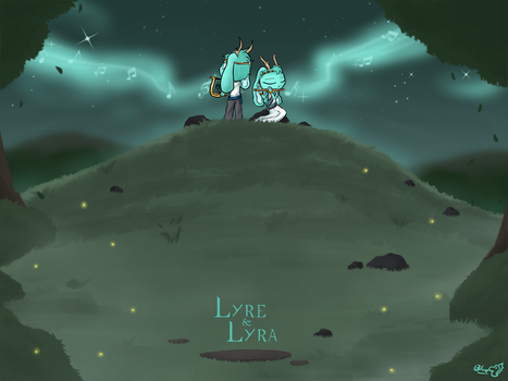 Lyre and Lyra (AC#156) by BlueTide1410