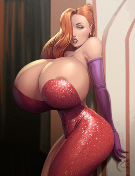 Jessica Rabbit by mangrowing