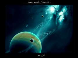 Space unsolved mysteries by Josif