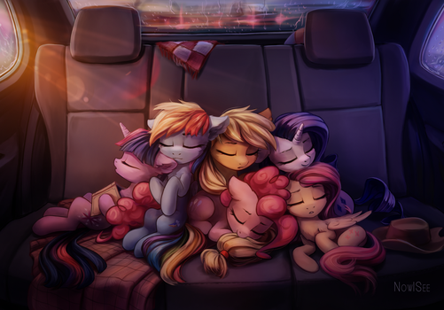 Sleepy heads by INowISeeI
