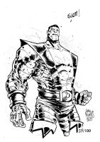 Sketchbook Sketch 2013: Colossus! by alessandromicelli