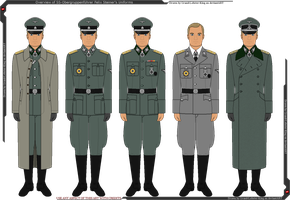 Overview of Felix Steiner's Uniforms by Grand-Lobster-King