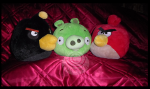 My Angry Birds Plush Collection by KillerSandy