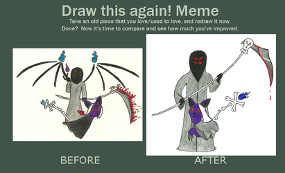 Fantasia Aeon Before and After Meme by FlareAeon