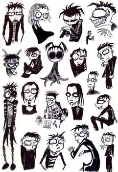 Johnny the Homicidal Maniac by CadenReid