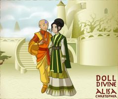 ATLA Couples: Taang by GoldenValentine