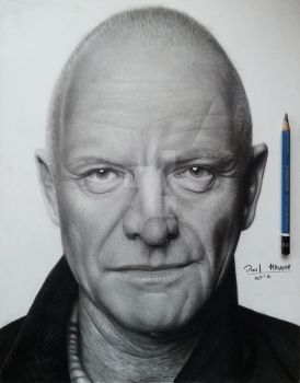 Sting (The Police) by Polonx