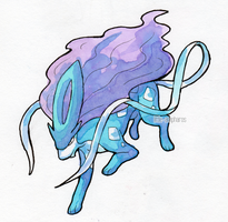 #245 Suicune by little-ampharos