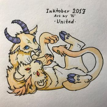 Inktober 29/31 - United by Tora-Tikel