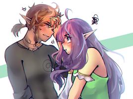 Liam and Lucy by Putput-Chan