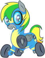 Wonderbolt Wheely by masemj