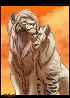 Portrait Comm for Uglynesspermits by Belka-1100