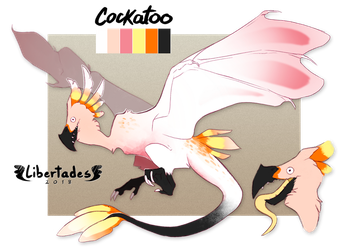 Cockatoo Wyvian AUCTION OPEN by Libertades