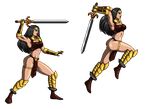 -Lady Immolatasia Sprite- by Dualmask