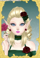 Dawn, the elven princess oc (did not make the art) by DawnOfTheAgez